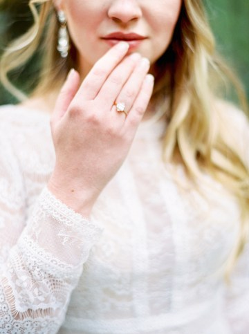 Woodland Wedding Inspiration by Molly Lichten Photography and Jamie Leigh Events 37