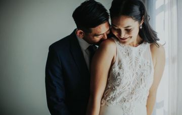 Glamorous & Stylish Wedding by Katie Branch Photography and Jen Kruger Design 29