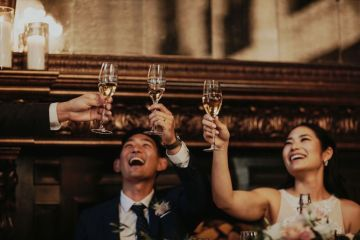 Glamorous & Stylish Wedding by Katie Branch Photography and Jen Kruger Design 37