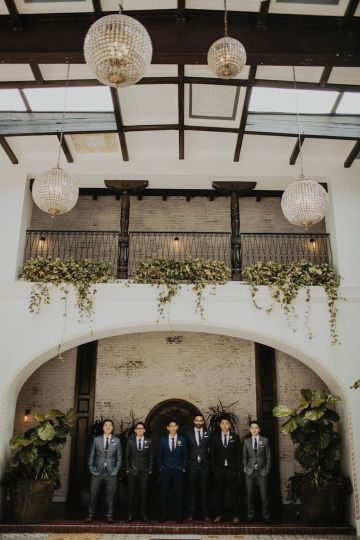 Glamorous & Stylish Wedding by Katie Branch Photography and Jen Kruger Design 4