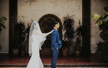 Glamorous & Stylish Wedding by Katie Branch Photography and Jen Kruger Design 40
