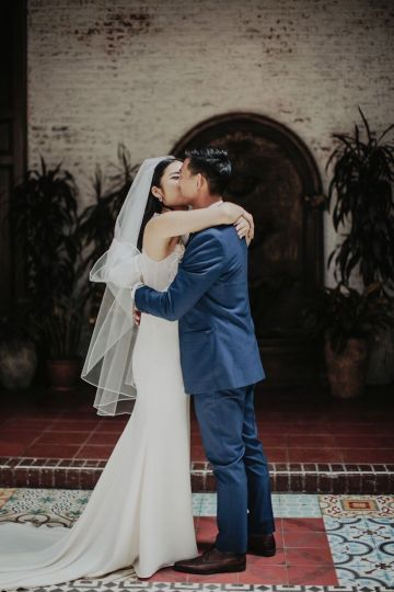 Glamorous & Stylish Wedding by Katie Branch Photography and Jen Kruger Design 41