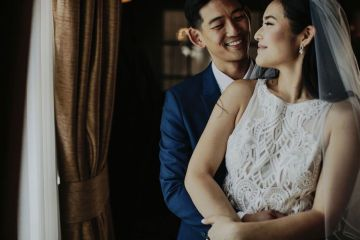 Glamorous & Stylish Wedding by Katie Branch Photography and Jen Kruger Design 45