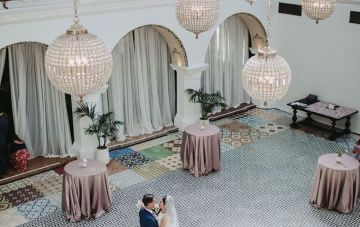 Glamorous & Stylish Wedding by Katie Branch Photography and Jen Kruger Design 57