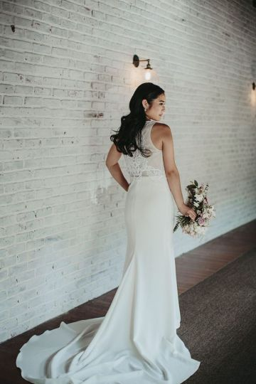 Glamorous & Stylish Wedding by Katie Branch Photography and Jen Kruger Design 59