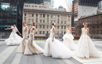 Best of Bridal Week: Monique Lhuillier Wedding Dress Collection 2018