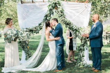 Romantic Floral Wedding by Hay Alexandra and Geomyra Lewis Wedding and Events 14
