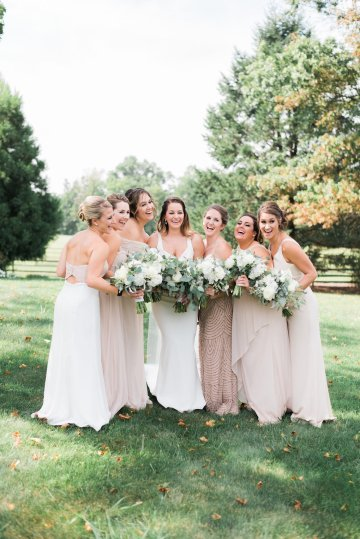 Romantic Floral Wedding by Hay Alexandra and Geomyra Lewis Wedding and Events 23