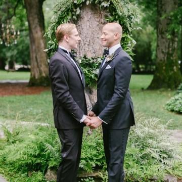 Same Sex Southern Wedding Inspiration by Jenna Henderson and Cedarwood Weddings 20