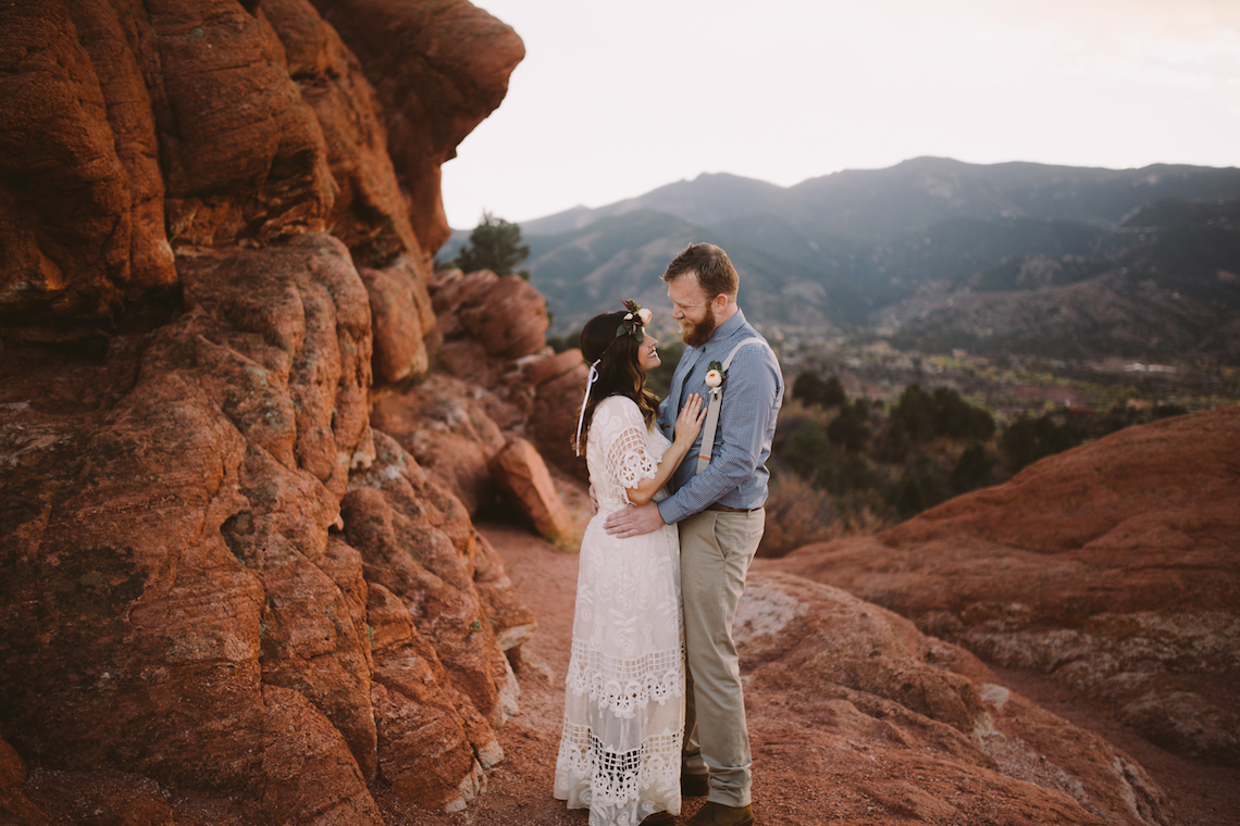 Sunset Elopement by Ashlee Kay Photography 10