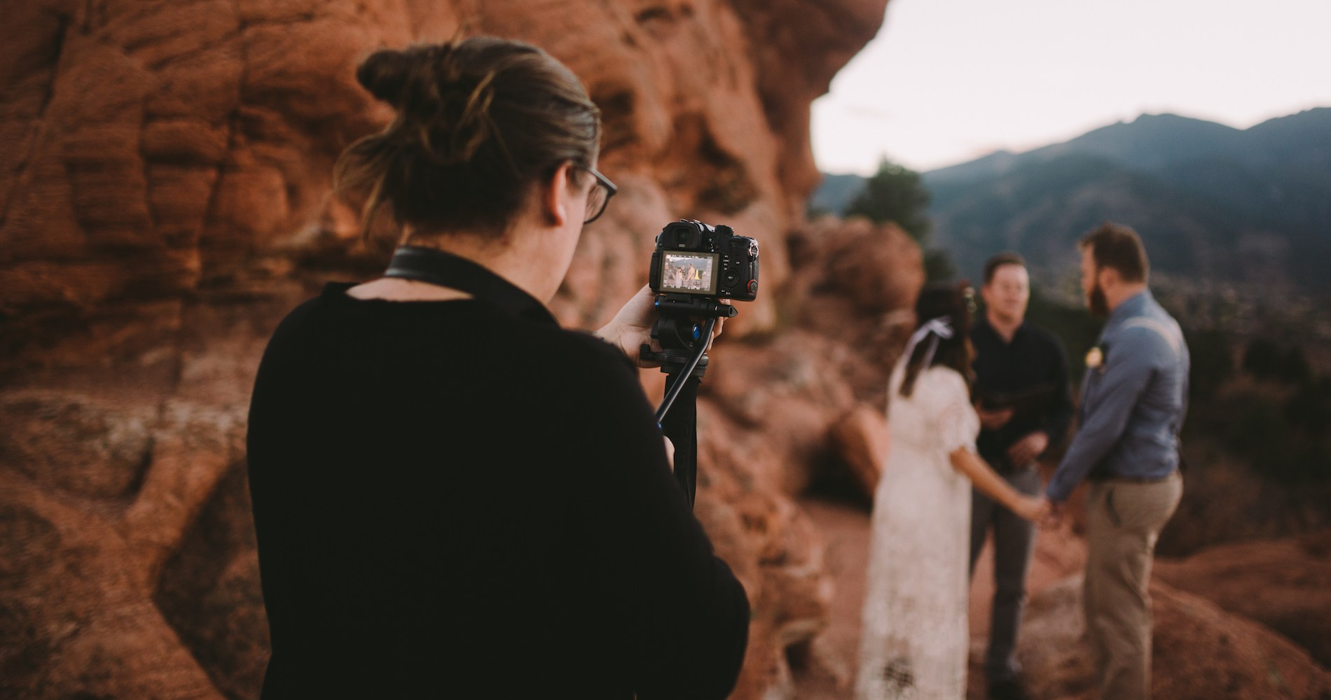 Sunset Elopement by Ashlee Kay Photography 3