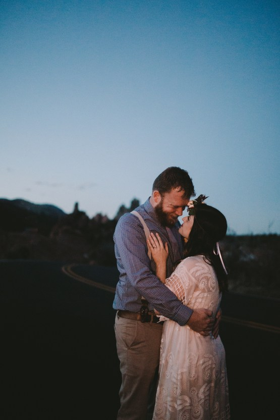Sunset Elopement by Ashlee Kay Photography 32