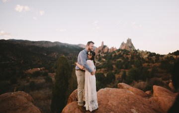 The Most Intimate Sunset Elopement
