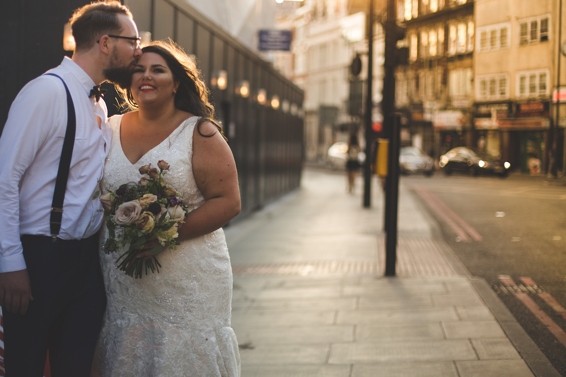 Callie Thorpe on being a plus size bride | Photo by Kirsty MacKenzie 4