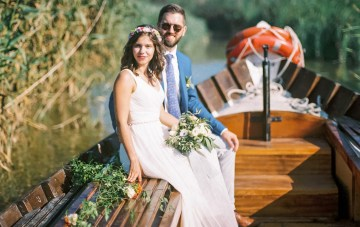 Citrus-Laced Destination Wedding in Spain