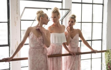 Pretty in Pink; Joanna August Bridesmaid Dress Collection