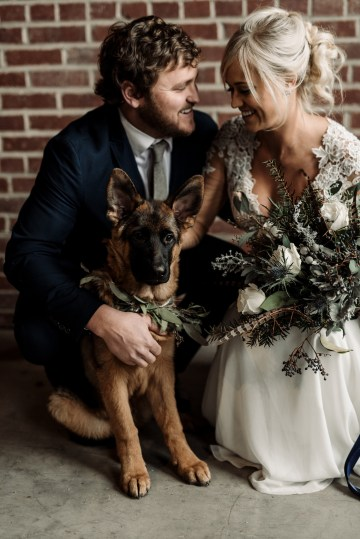 Moody Winter Wedding Inspiration by Kelcy Leigh Photography 12