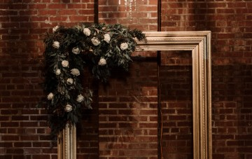 Moody Winter Wedding Inspiration by Kelcy Leigh Photography 28