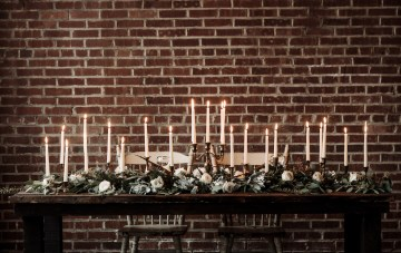 Moody Winter Wedding Inspiration by Kelcy Leigh Photography 9
