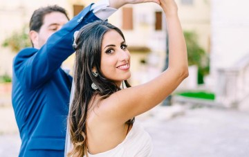 Pretty Destination Wedding in Corfu
