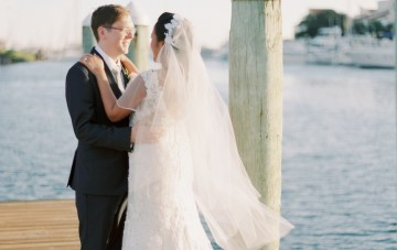 Seaside & Sequins; Gorgeous Florida Wedding