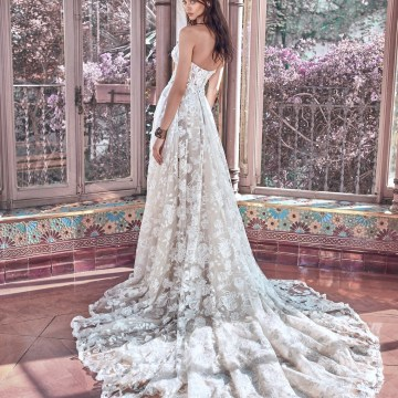 Georgia back Galia Lahav Wedding Dress Collection 2018 06