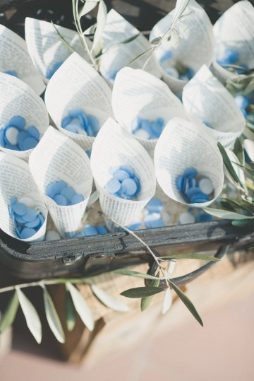 Italian Wedding with a Greek Theme by Infraordinario Wedding 13