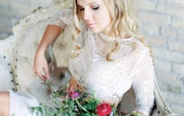 Pretty Warehouse Wedding Inspiration by Natashia Nicole Photography 23