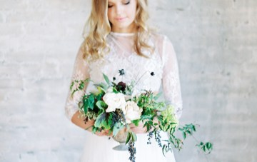 Pretty Warehouse Wedding Inspiration by Natashia Nicole Photography 24