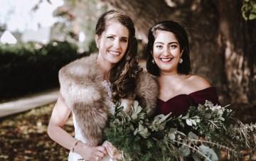 Romantic Winter Wedding by Brandi Potter Photography 11