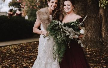 Romantic Winter Wedding by Brandi Potter Photography 13