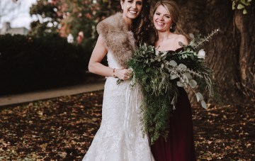 Romantic Winter Wedding by Brandi Potter Photography 14