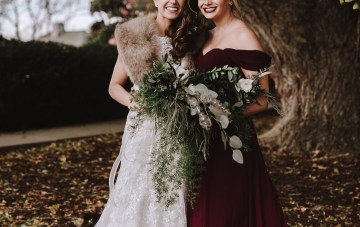 Romantic Winter Wedding by Brandi Potter Photography 16