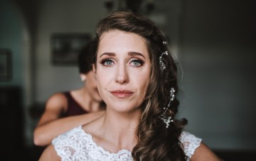 Romantic Winter Wedding by Brandi Potter Photography 2