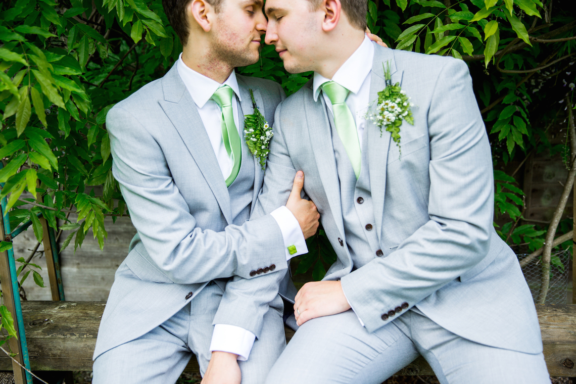 Sweet Same Sex Wedding in England by Becky Bailey Photography 52