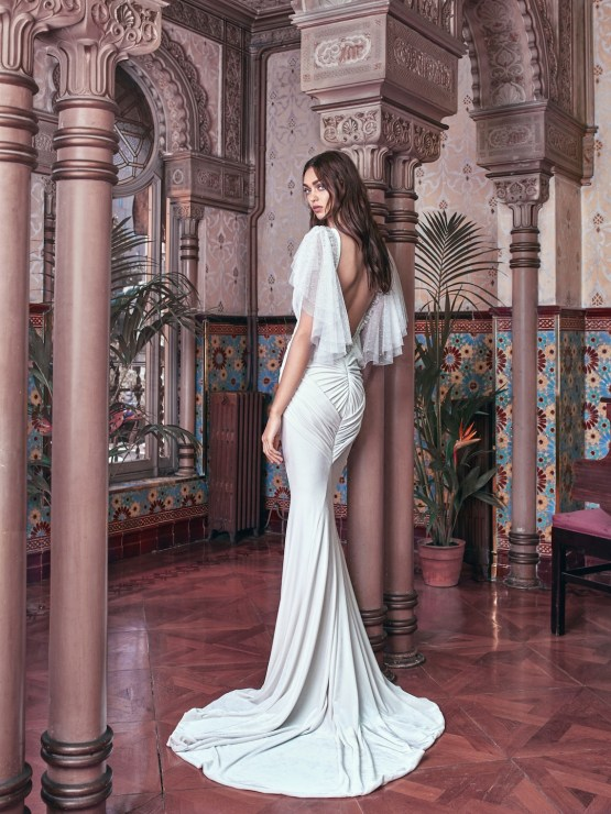 Velvet back Galia Lahav Wedding Dress Collection 2018 31
