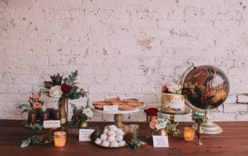 Vintage Travel Wedding Inspiration by Alexandria Odekirk Photography and Dotted Events 17