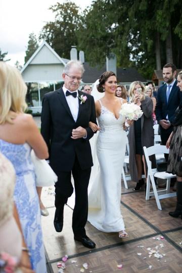 Glamorous Gatsby-Inspired Lake House Wedding
