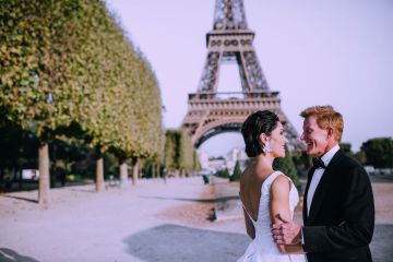 Glamorous French Wedding by Alisabeth Von Presley and Fete in France 29