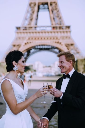 Glamorous French Wedding by Alisabeth Von Presley and Fete in France 30