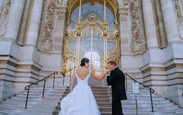 Glamorous French Wedding by Alisabeth Von Presley and Fete in France 32