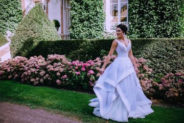Glamorous French Wedding by Alisabeth Von Presley and Fete in France 41