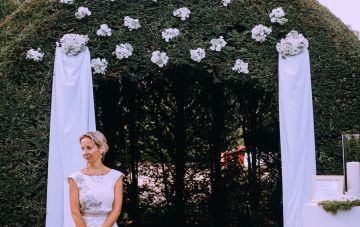 Glamorous French Wedding by Alisabeth Von Presley and Fete in France 50