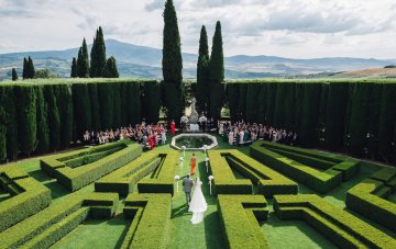 Luxurious Destination Wedding in Tuscany by Stefano Santucci 70