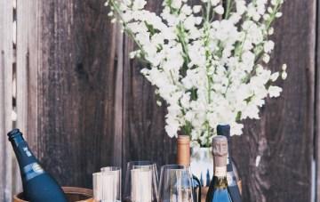 Modern Farmhouse Wedding Inspiration by Alexandra Wallace and A Lovely Creative 15