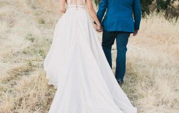 Modern Farmhouse Wedding Inspiration by Alexandra Wallace and A Lovely Creative 73