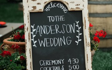 Pretty Outdoor Wedding by Sara Lynn Photography 65