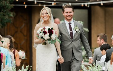 Pretty Garden Wedding with an Elegant Yet Informal Feel