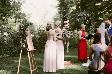 Rustic & Intimate Wedding by Suzuran Photography and Oak & Honey Events 60