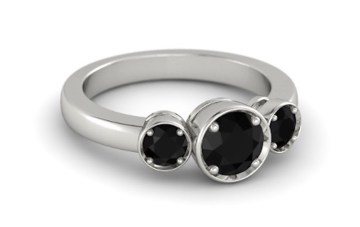 round-black-onyx-platinum-ring-with-black-onyx